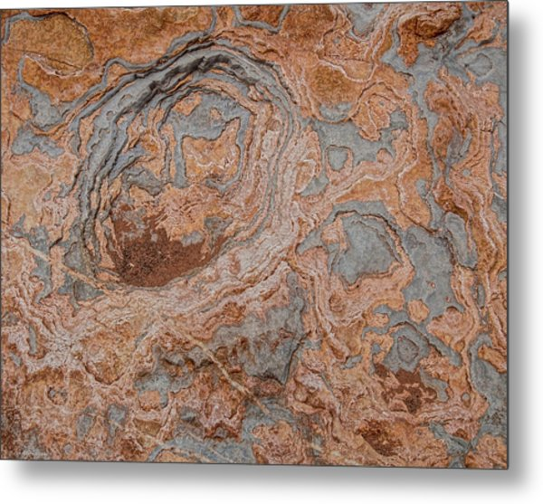Metal Print featuring the photograph Shinumo Abstract by Britt Runyon