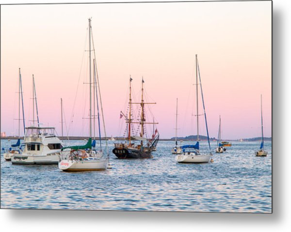Ship Out Of Time Metal Print