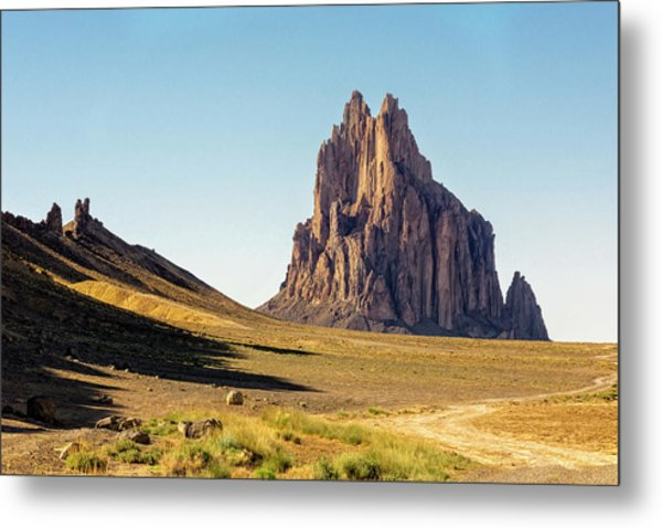 Shiprock 3 - North West New Mexico Metal Print