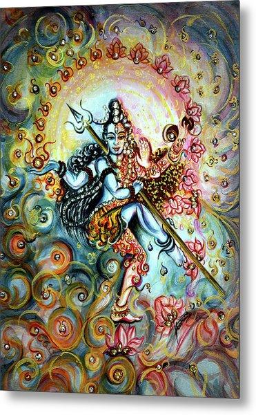 Shiva Shakti Metal Print