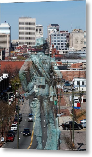 Shockoe Overlook Metal Print
