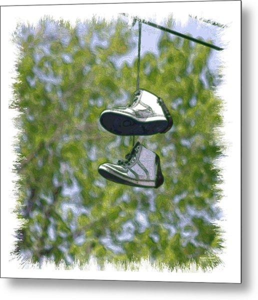 Shoefiti 23625 Metal Print