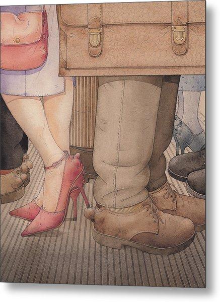 Shoes Metal Print by Kestutis Kasparavicius