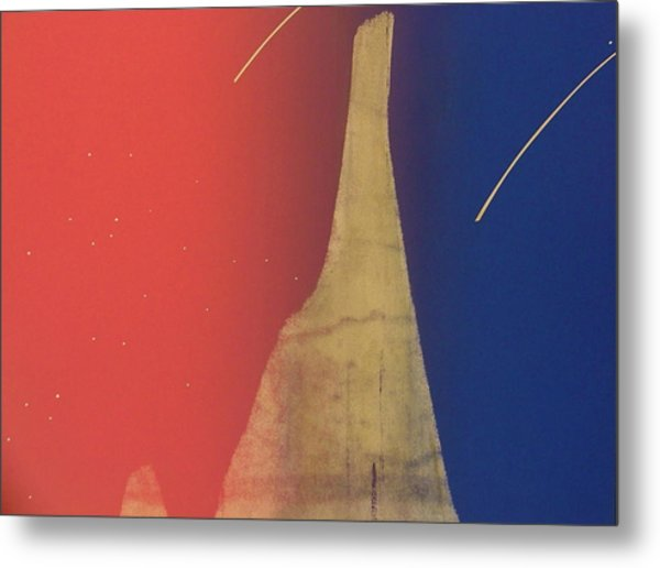 Shooting Star Metal Print by Gary Kaemmer