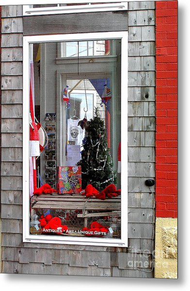 Shop Window Metal Print