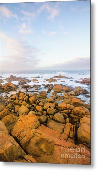 Shore Calm Morning Metal Print