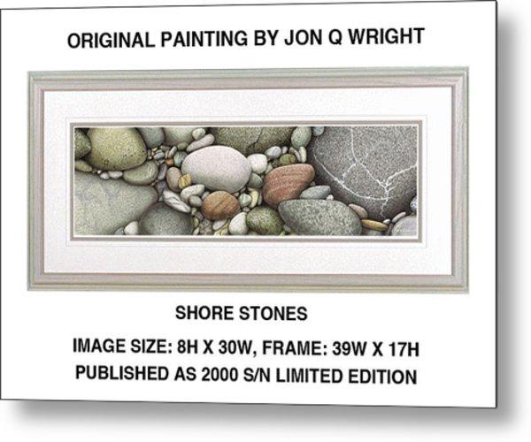 Shore Stones Metal Print