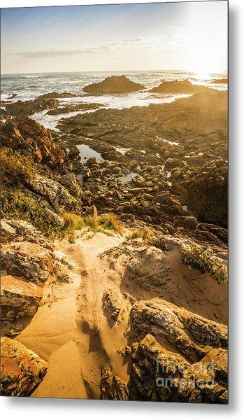 Shoreline Sunshine Metal Print