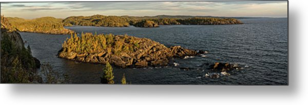 Shores Of Pukaskwa Metal Print