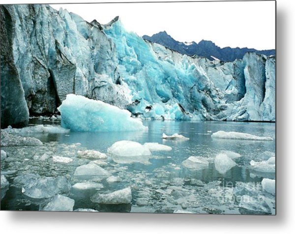 Shoup Glacier Metal Print by Frank Townsley
