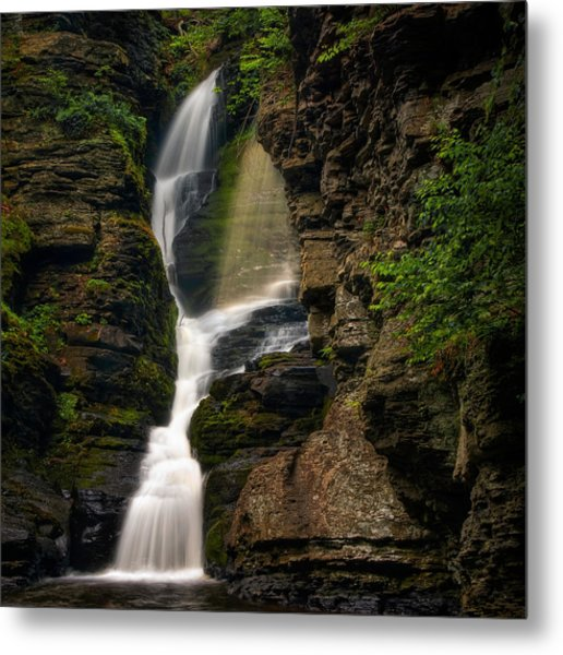 Shower Of Eden Metal Print
