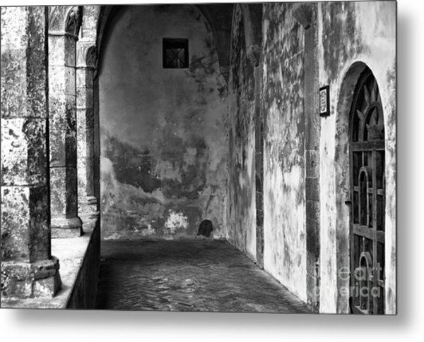 Showing It's Age In Sorrento Metal Print