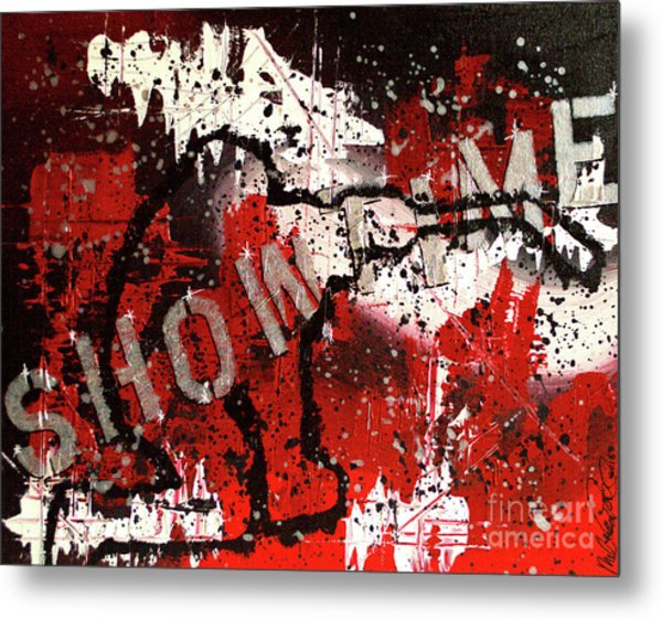 Showtime At The Madhouse Metal Print