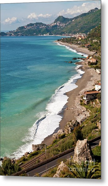 Sicilian Sea Sound Metal Print