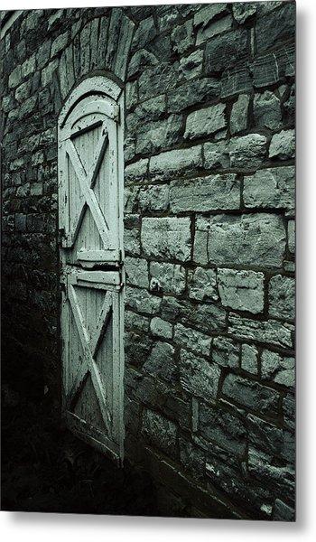 Side Door Metal Print