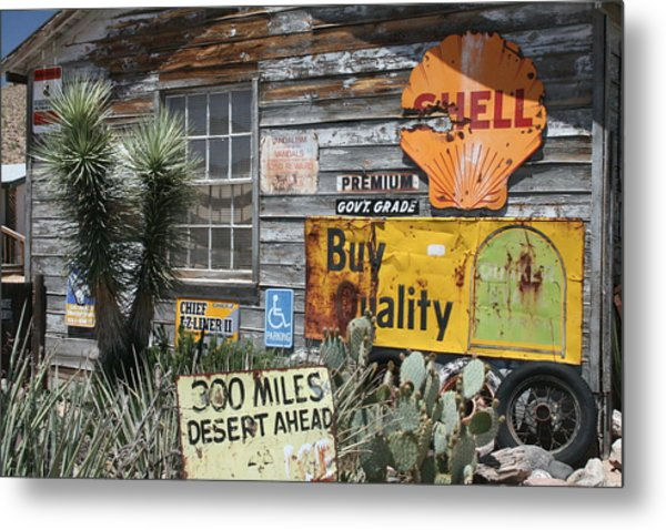 Sign Sign, Everywhere A Sign Metal Print