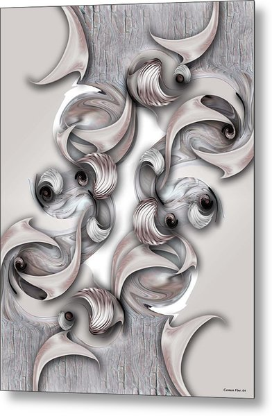 Significance And Shape Metal Print