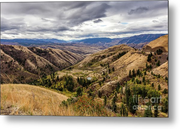 Silence Of Whitebird Canyon Idaho Journey Landscape Photography By Kaylyn Franks  Metal Print