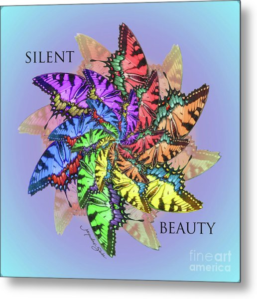 Silent Beauty Metal Print