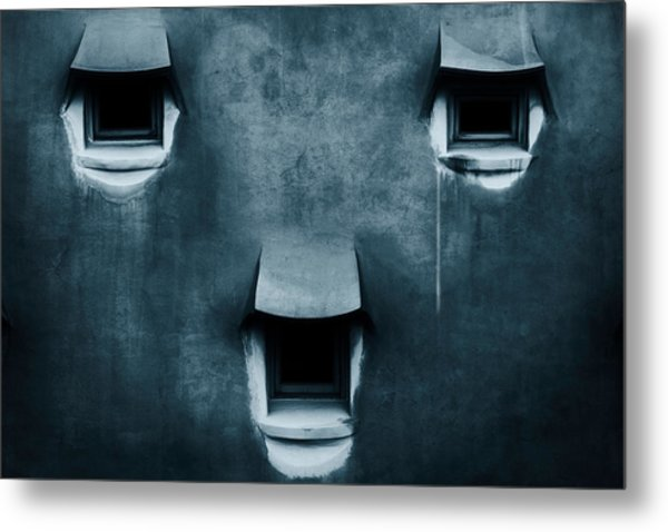 Silent Cry Metal Print