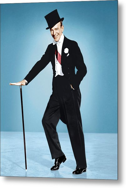 Silk Stockings, Fred Astaire, 1957 Metal Print