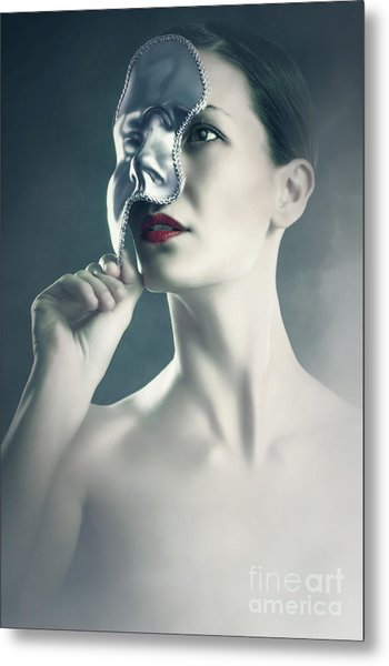 Metal Print featuring the photograph Silver Face by Dimitar Hristov