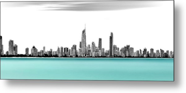 Silver Linings Panorama Metal Print