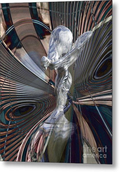 Silver Shadow Metal Print by Chuck Brittenham