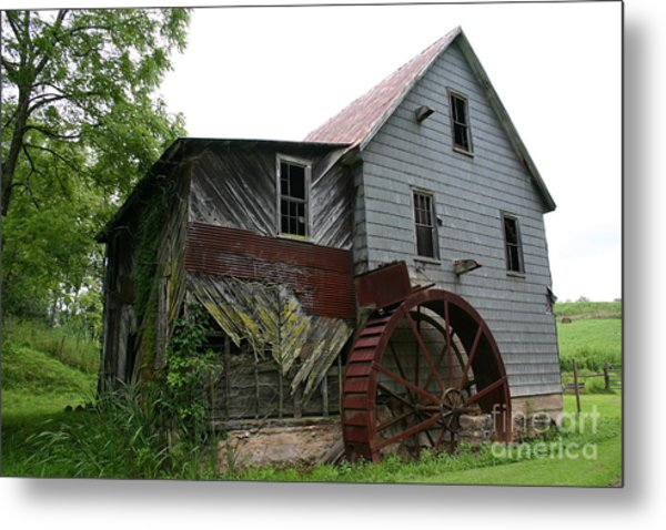 Silverlake Mill Metal Print