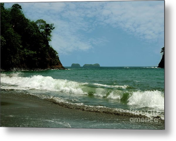 Simple Costa Rica Beach Metal Print