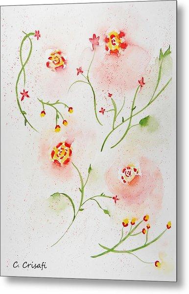 Simple Flowers #2 Metal Print
