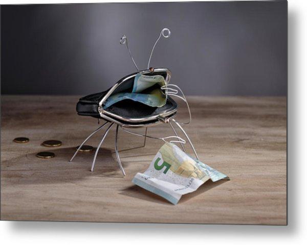 Simple Things - The Crab Metal Print