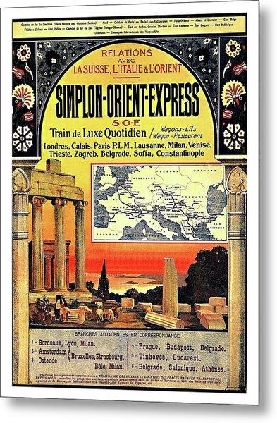 Simplon - Orient Express  Metal Print