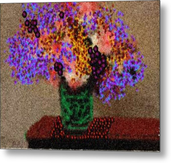 Simply Flowers Metal Print by Dr Loifer Vladimir