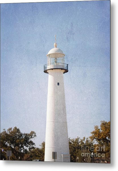 Simply Lighthouse Metal Print
