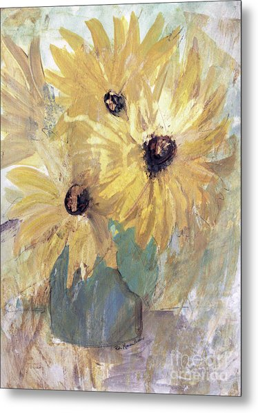 Simply Sunflowers  Metal Print