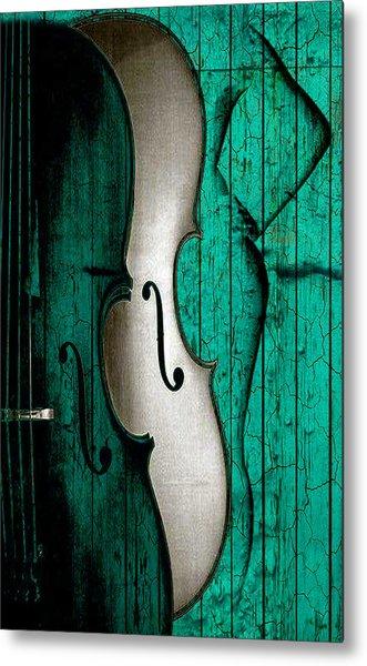 Sinful Violin Metal Print