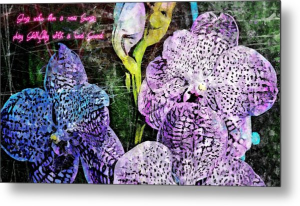 Sing Unto Him A New Song Metal Print