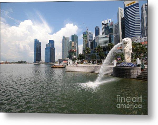 Singapore Metal Print
