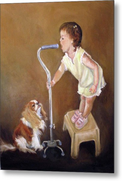Singin In The Cane Part Two Metal Print