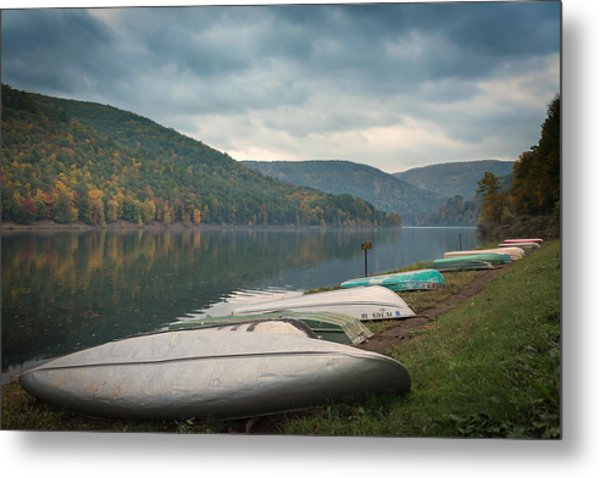 Metal Print featuring the photograph Sinnemahoning State Park by Cindy Lark Hartman