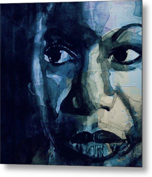 Sinnerman - Nina Simone Metal Print