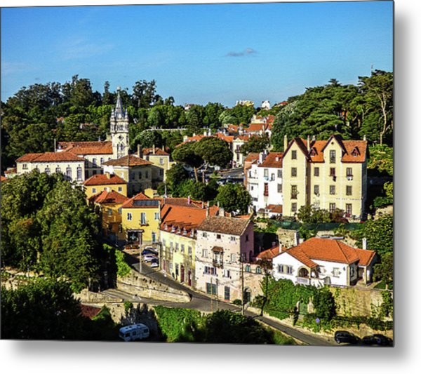 Sintra - The Most Romantic Village Of Portugal Metal Print