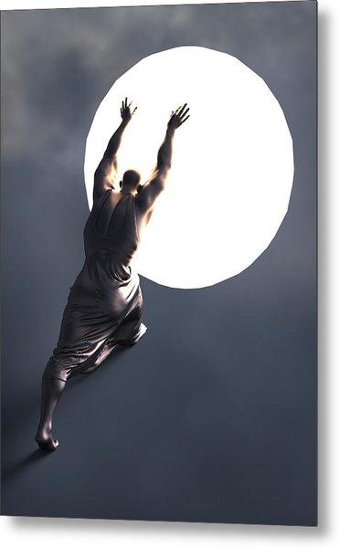 Sisyphus Lamp 05 Metal Print