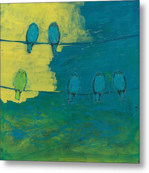 Six In Waiting Break Of Day Metal Print
