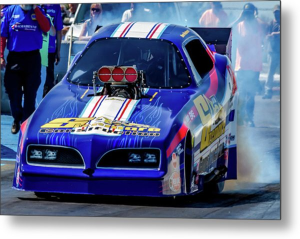 Sizemore Construction Pontiac Funny Car Metal Print