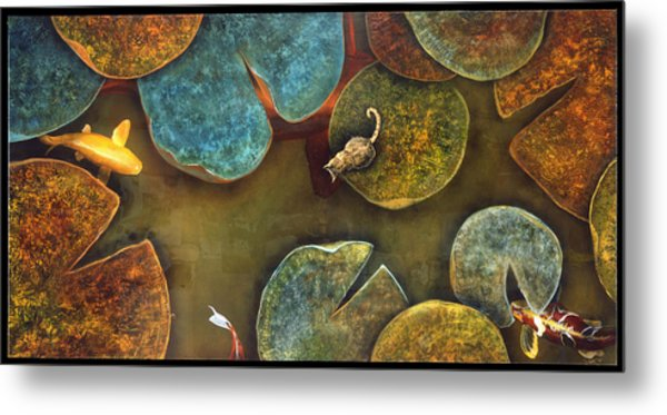Sizing It Up Metal Print by Stephen Schubert