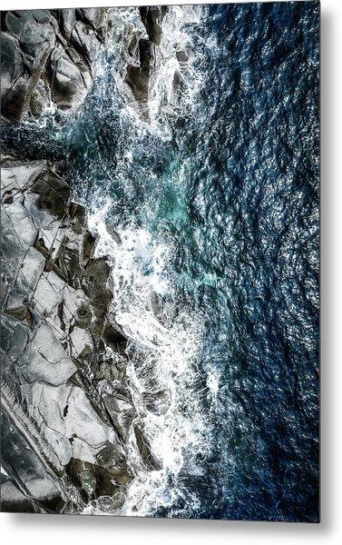 Skagerrak Coastline - Aerial Photography Metal Print
