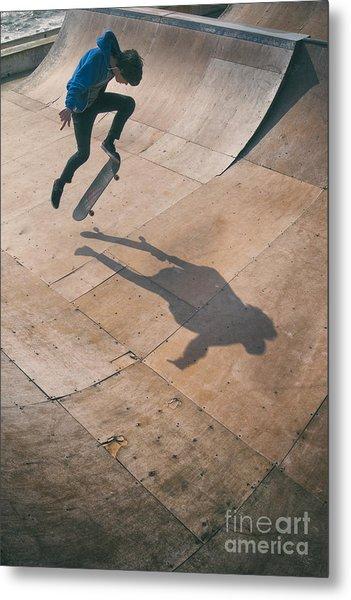 Skater Boy 001 Metal Print