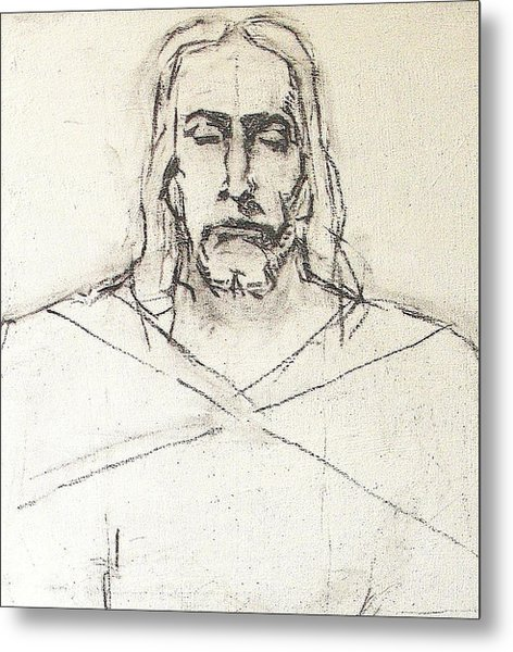 Sketch A Of Christ Metal Print